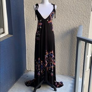 French Connection Hi Lo Maxi Dress